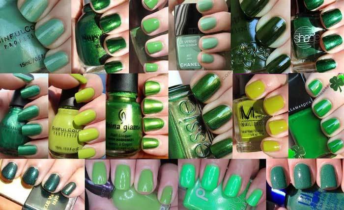Green Nail Polish – Best Brands, Mint, Dark, Neon, Emerald, Light ...