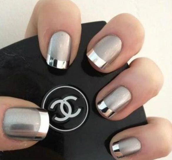 Metallic Nail Polish – Best Brands, Gold, Silver, Mirror, Chrome ...