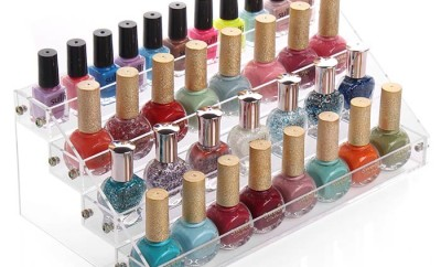 Nail Polish storage Ideas containers/ racks DIY Solutions