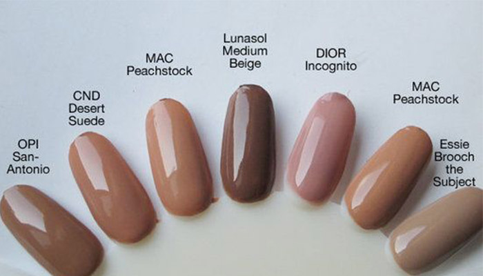 Nude Nail Polish – Best Brands & Colors for Your Skin Tone, How to ...