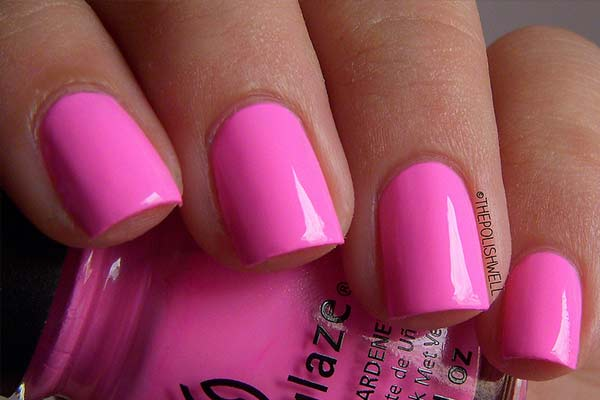 Pink Nail Polish – Best Brands, Neon, Light, Hot, Pale, Baby, Barbie ...