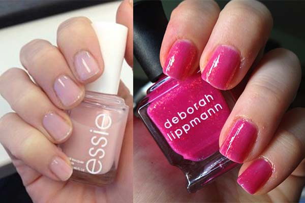 Pink Nail Polish Best Brands Neon Light Hot Pale