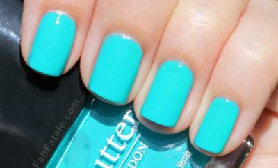 Turquoise Nail Polish, Bright, Light, Blue Designs & Best Brand Names | Nailshe