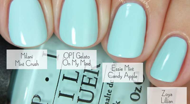 Best Baby Blue Nail Polish Color Nailshe