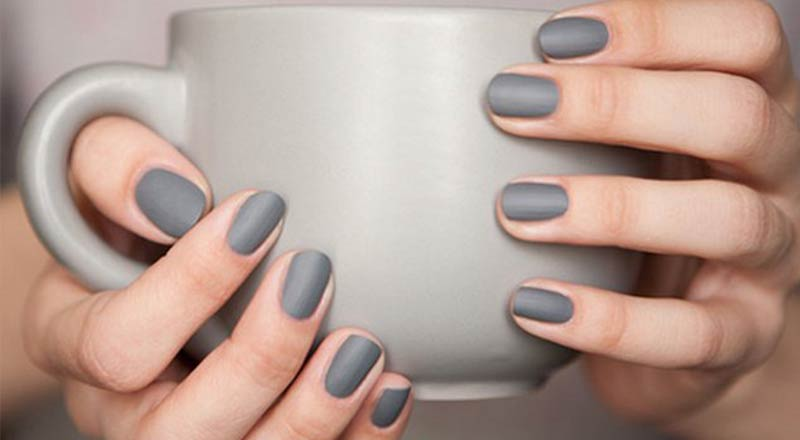 Grey Nail Polish Matte Dark Bright Blue Essie Opi Review