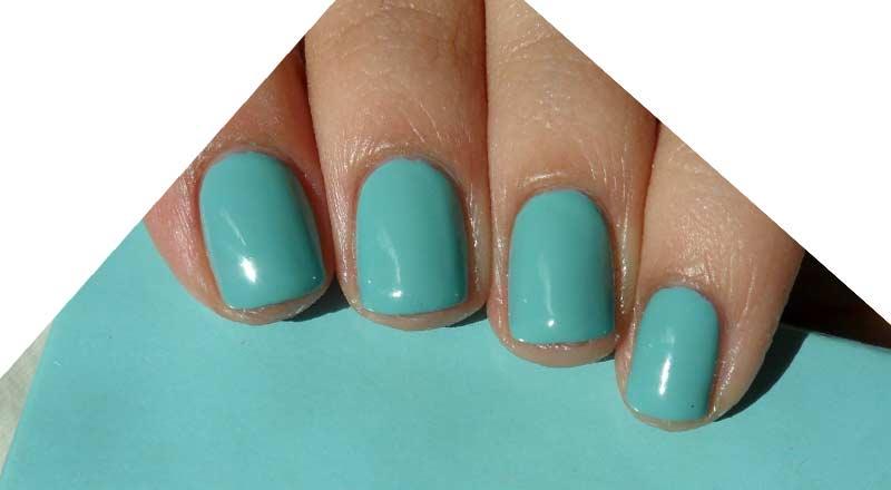 Blue Nail Polish Tiffany Light Royal Navy Baby Matte