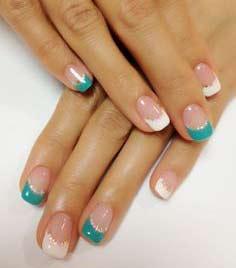turquoise nail polish bright light blue designs  best