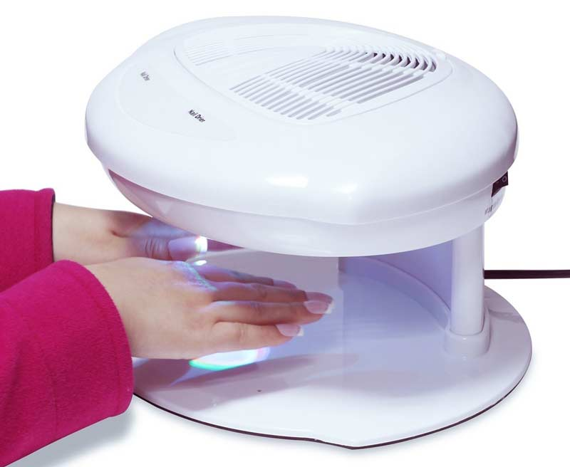Best Nail Polish Dryer Machines- LED, UV Lamps, Fan, Spray Reviews ...