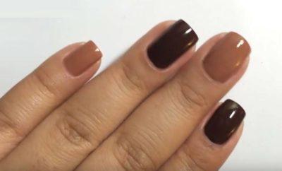 brown nail polish make shades designs & trends