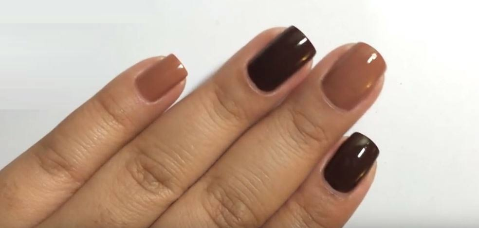 Brown Nail Polish- Light, Dark, how to make, Colors, Designs, Names ...