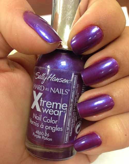 Purple Nail Polish Colors Names Best Reviews Ideas Nailshe
