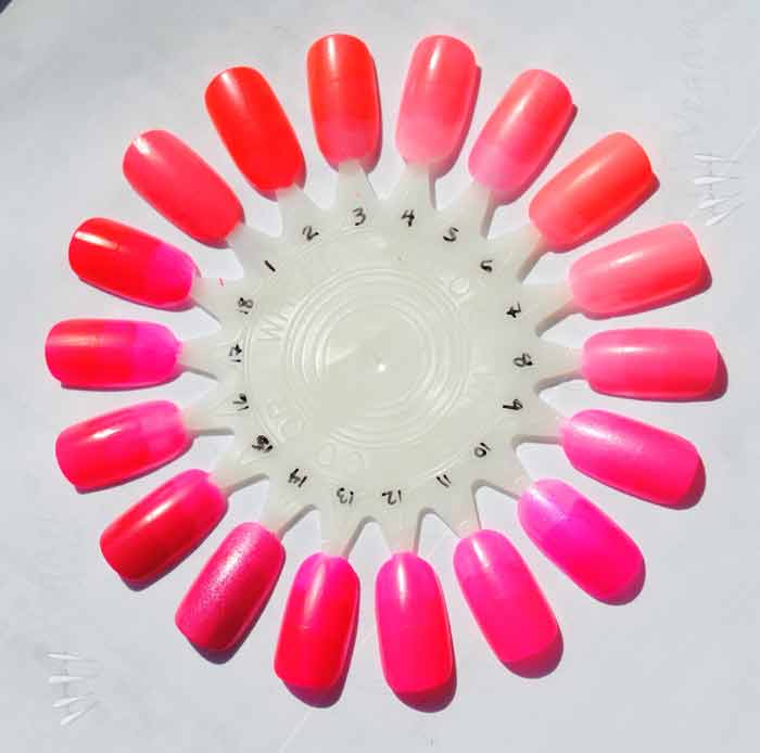 Coral Nail Polish- Neon, Pink, Bright, Light, Red, Orange, Designs ...