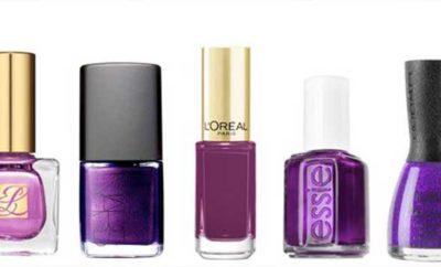 Purple Nail Polish Colors, Names, Best Reviews + Ideas | Nailshe