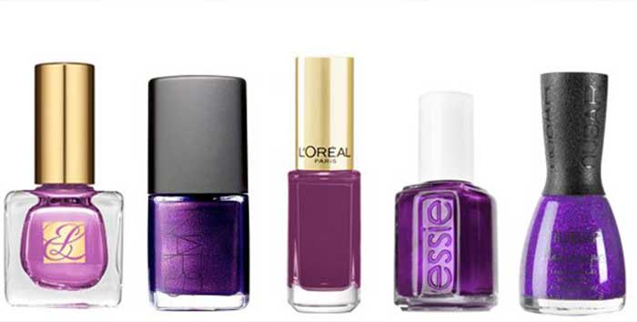 Purple Nail Polish Colors, Names, Best Reviews + Ideas | Nailshe