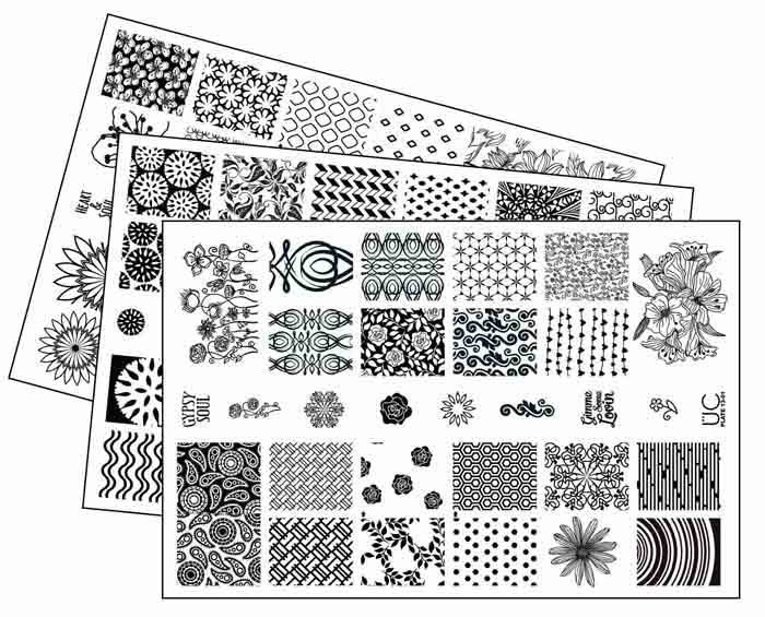 Best Nail Art Stamping Plates Kit Reviews Nailshe
