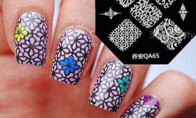 stamping nail art Kit Plates & reviews