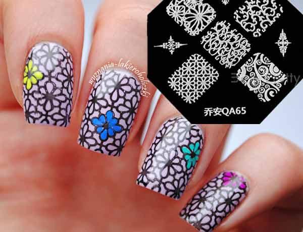 Stamping nail art kits plates stampers konad salon express stamping nail art kit plates reviews prinsesfo Gallery