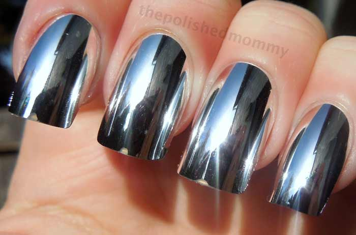 Metallic Nail Polish Best Brands Gold Silver Mirror Chrome Bronze Copper Pink Colors